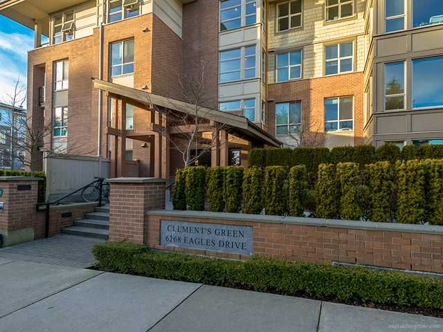 "Main Photo: 214 6268 EAGLES Drive in Vancouver: University VW Condo for sale in ""Clements Green"" (Vancouver West)  : MLS®# V1067735"