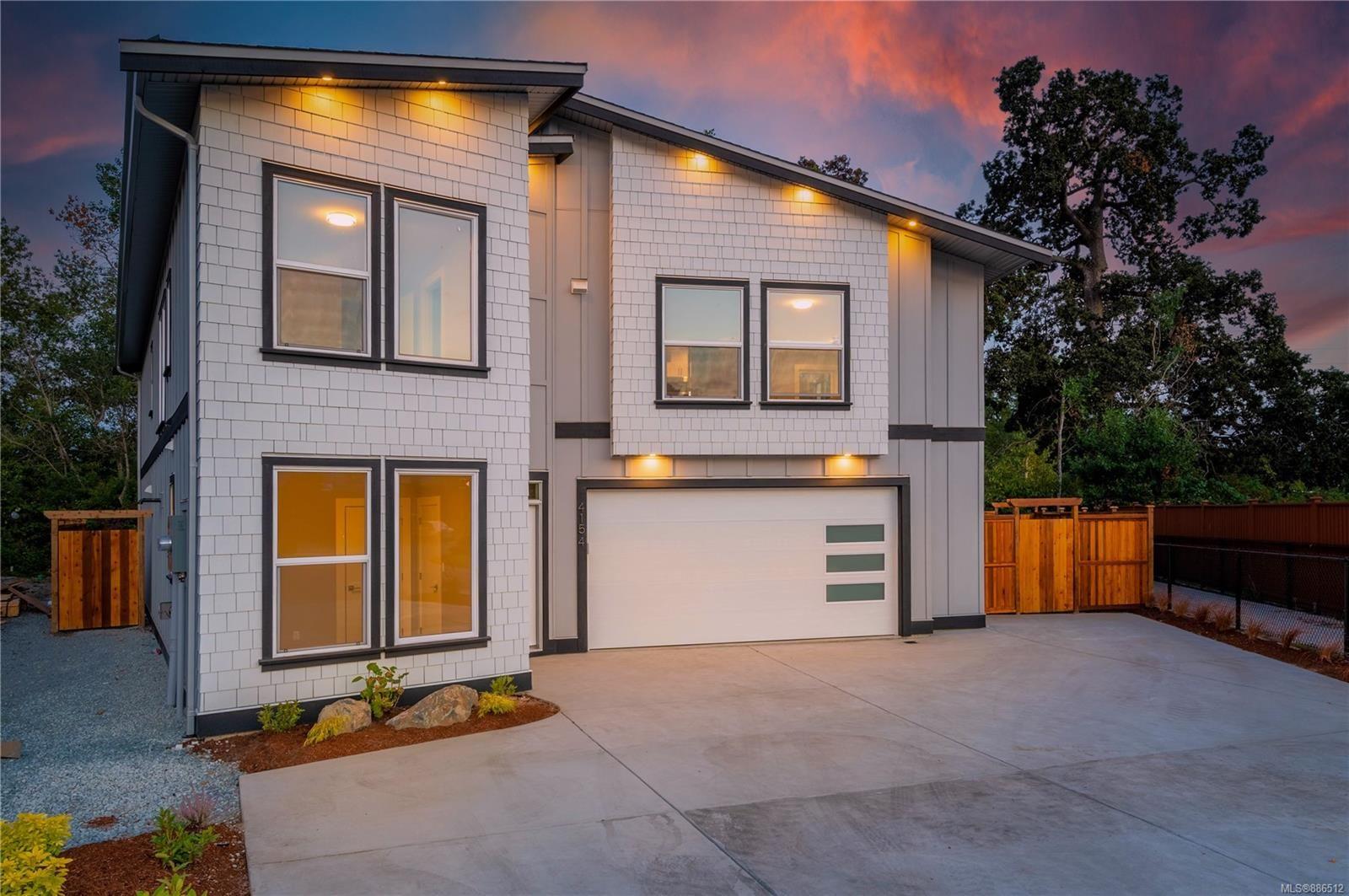 Main Photo: 4154 Jagat Pl in Saanich: SE Lake Hill House for sale (Saanich East)  : MLS®# 886512
