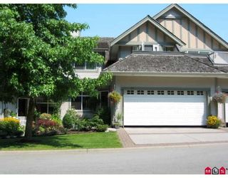 "Photo 1: 62 5811 122ND Street in Surrey: Panorama Ridge Townhouse for sale in ""LAKE BRIDGE"" : MLS®# F2917513"