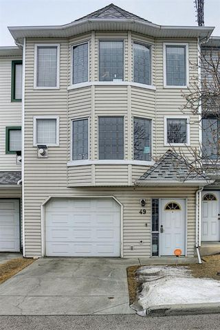 Main Photo: 49 Patina View SW in Calgary: Patterson Row/Townhouse for sale : MLS®# A1126702