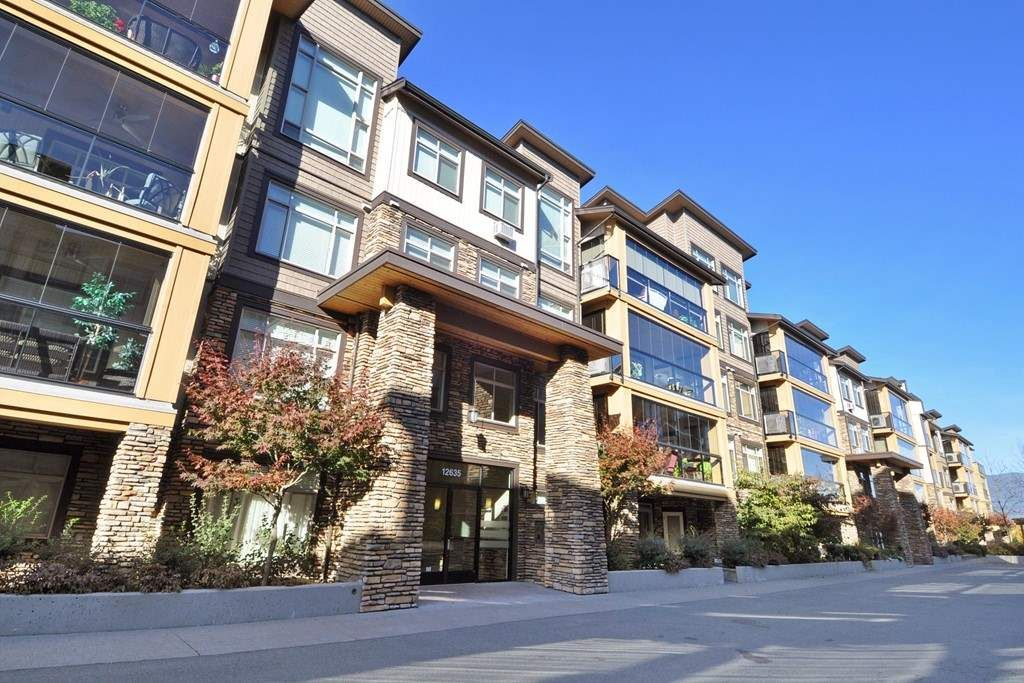 Main Photo: 112 12635 190A STREET in Pitt Meadows: Mid Meadows Condo for sale : MLS®# R2398055