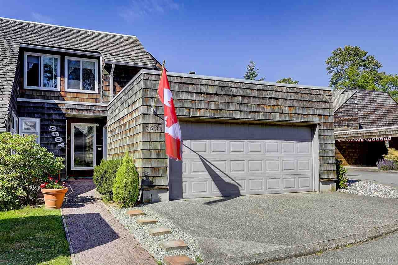 "Main Photo: 3684 BORHAM Crescent in Vancouver: Champlain Heights Townhouse for sale in ""THE UPLANDS"" (Vancouver East)  : MLS®# R2183477"