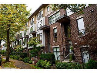 """Photo 1: 3651 COMMERCIAL Street in Vancouver: Victoria VE Townhouse for sale in """"Brix II"""" (Vancouver East)  : MLS®# V1087761"""