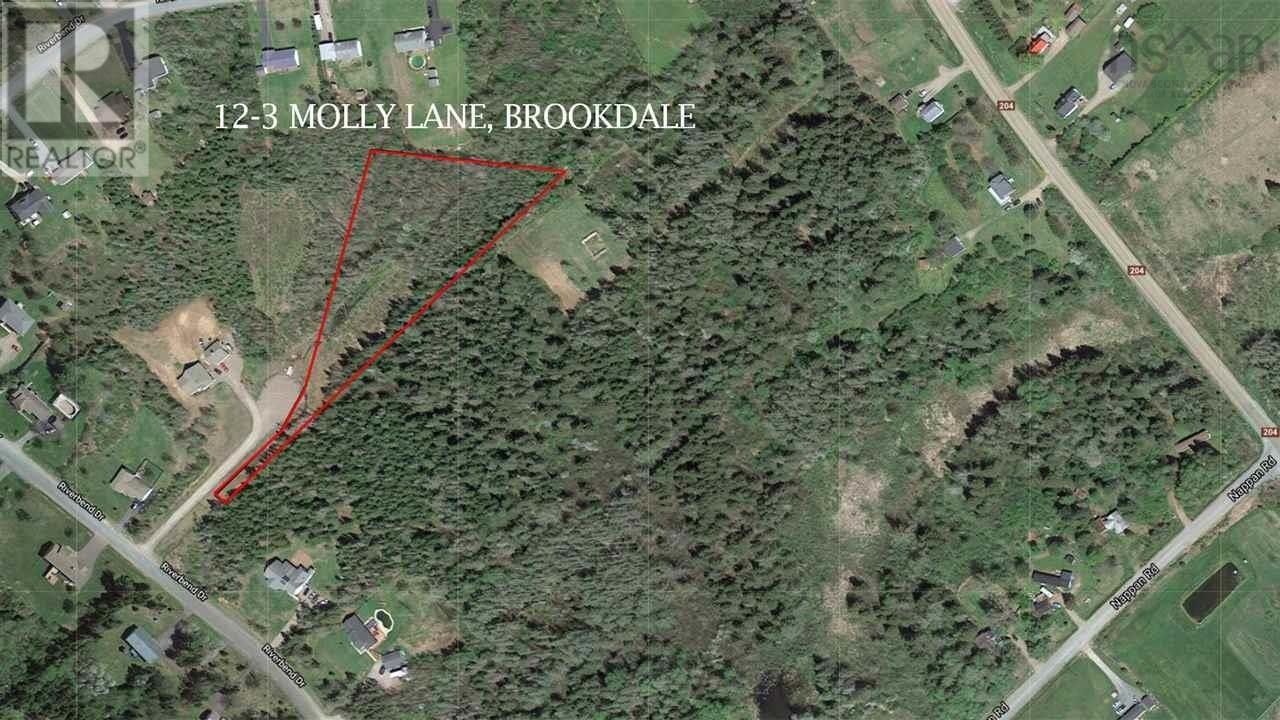 Main Photo: 12-3 Molly Lane in Brookdale: Vacant Land for sale : MLS®# 202123116