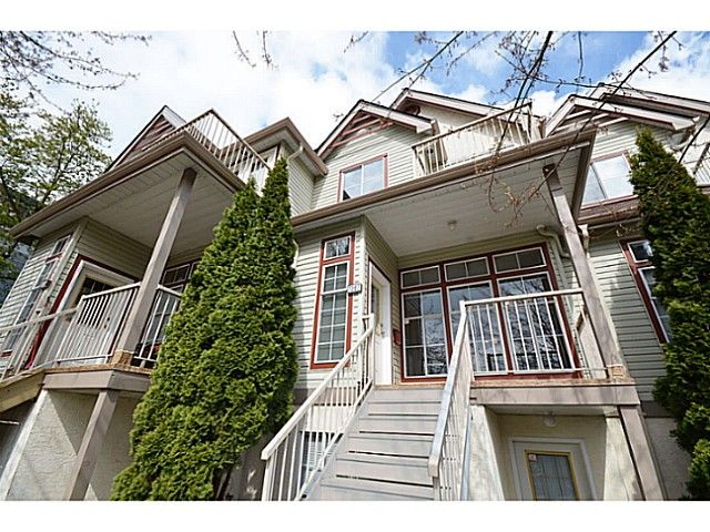 Main Photo: 1307 BRUNETTE AV in Coquitlam: Maillardville Townhouse for sale : MLS®# V1006092