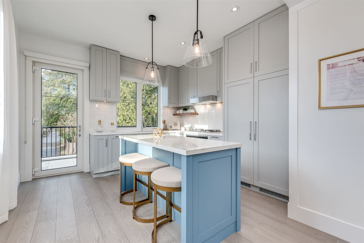 """Main Photo: 7855 GRANVILLE Street in Vancouver: South Granville Townhouse for sale in """"LANCASTER"""" (Vancouver West)  : MLS®# R2591523"""