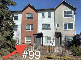 Photo 3: 99 2560 PEGASUS Boulevard in Edmonton: Zone 27 Townhouse for sale : MLS®# E4236405