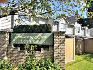 """Main Photo: 12 1588 DUTHIE Avenue in Burnaby: Simon Fraser Univer. Townhouse for sale in """"FAIRWAY LANE"""" (Burnaby North)  : MLS®# R2594655"""