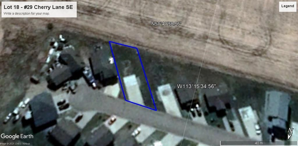 Main Photo: 29 Cherry Lane: Three Hills Residential Land for sale : MLS®# A1132474