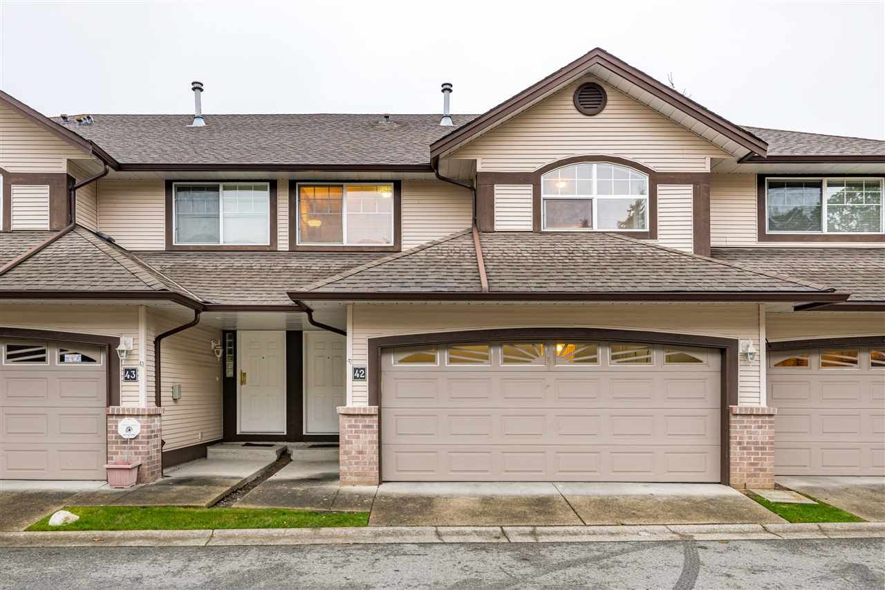 "Main Photo: 42 15959 82 Avenue in Surrey: Fleetwood Tynehead Townhouse for sale in ""Cherry Tree Lane"" : MLS®# R2511253"