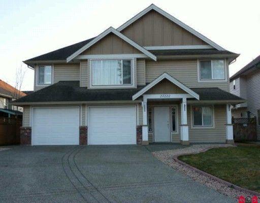 Main Photo: 27222 27th Avenue in Aldergrove: Home for sale : MLS®#  F2927458