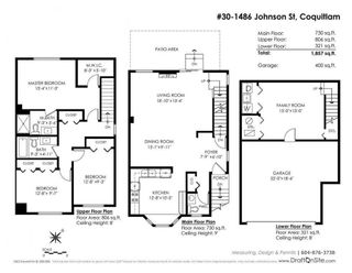 Photo 20: 30 1486 JOHNSON STREET in Coquitlam: Westwood Plateau Townhouse for sale : MLS®# R2228408
