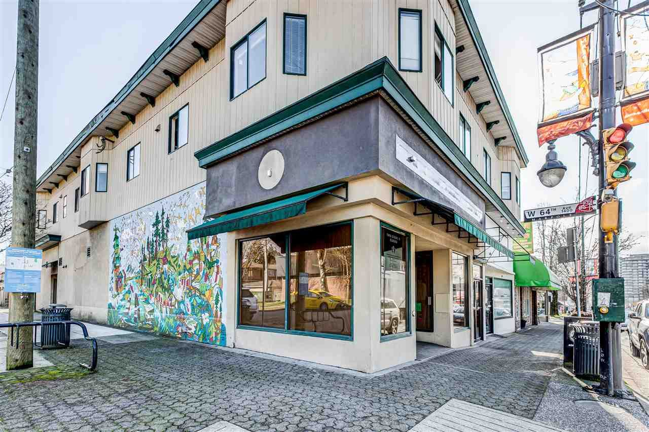 Main Photo: 8002 GRANVILLE Street in Vancouver: Marpole Retail for lease (Vancouver West)  : MLS®# C8036867