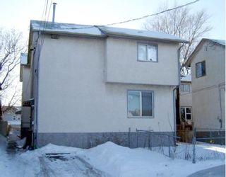 Photo 1: 442 ALEXANDER Avenue in WINNIPEG: Central Winnipeg Residential for sale : MLS®# 2800684