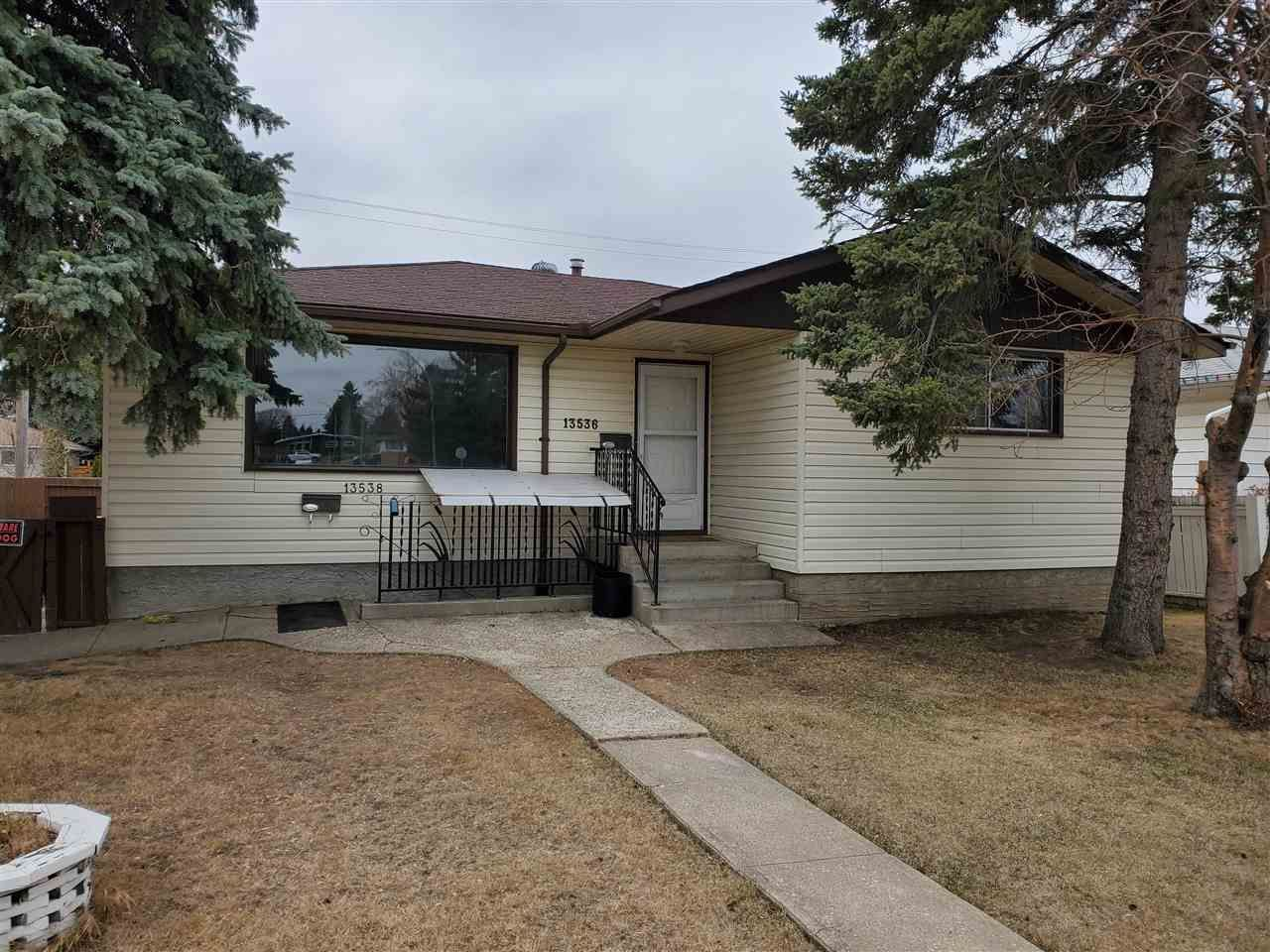 Main Photo: 13536 119 Street in Edmonton: Zone 01 House for sale : MLS®# E4240934