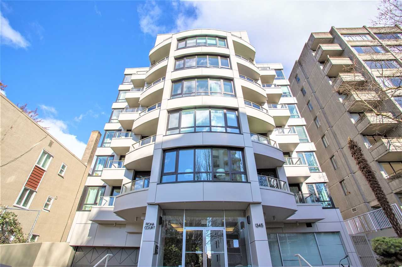 Main Photo: 303 1345 BURNABY STREET in Vancouver: West End VW Condo for sale (Vancouver West)  : MLS®# R2562878