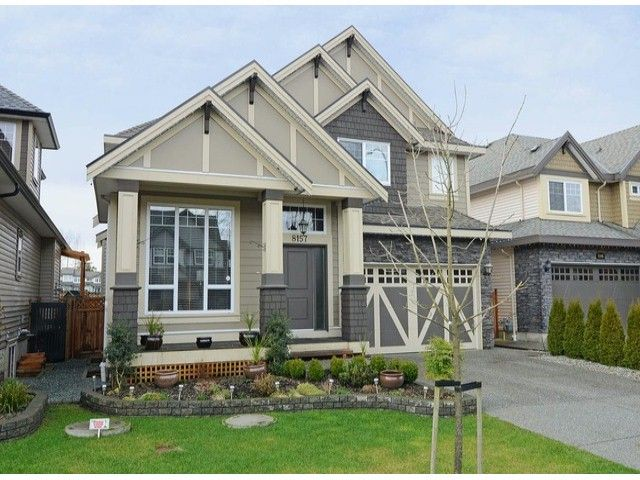 Main Photo: 8157 211TH Street in Langley: Willoughby Heights House for sale : MLS®# F1300595