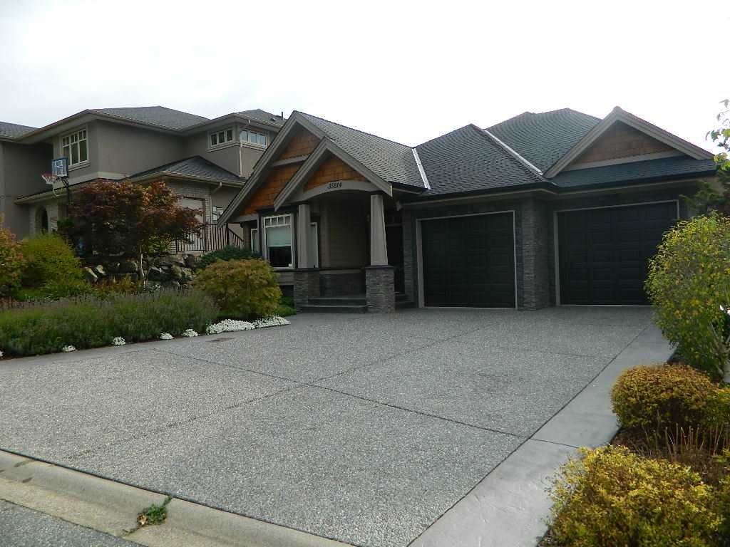 "Main Photo: 35814 TREETOP Drive in Abbotsford: Abbotsford East House for sale in ""The Highlands"" : MLS®# R2110893"