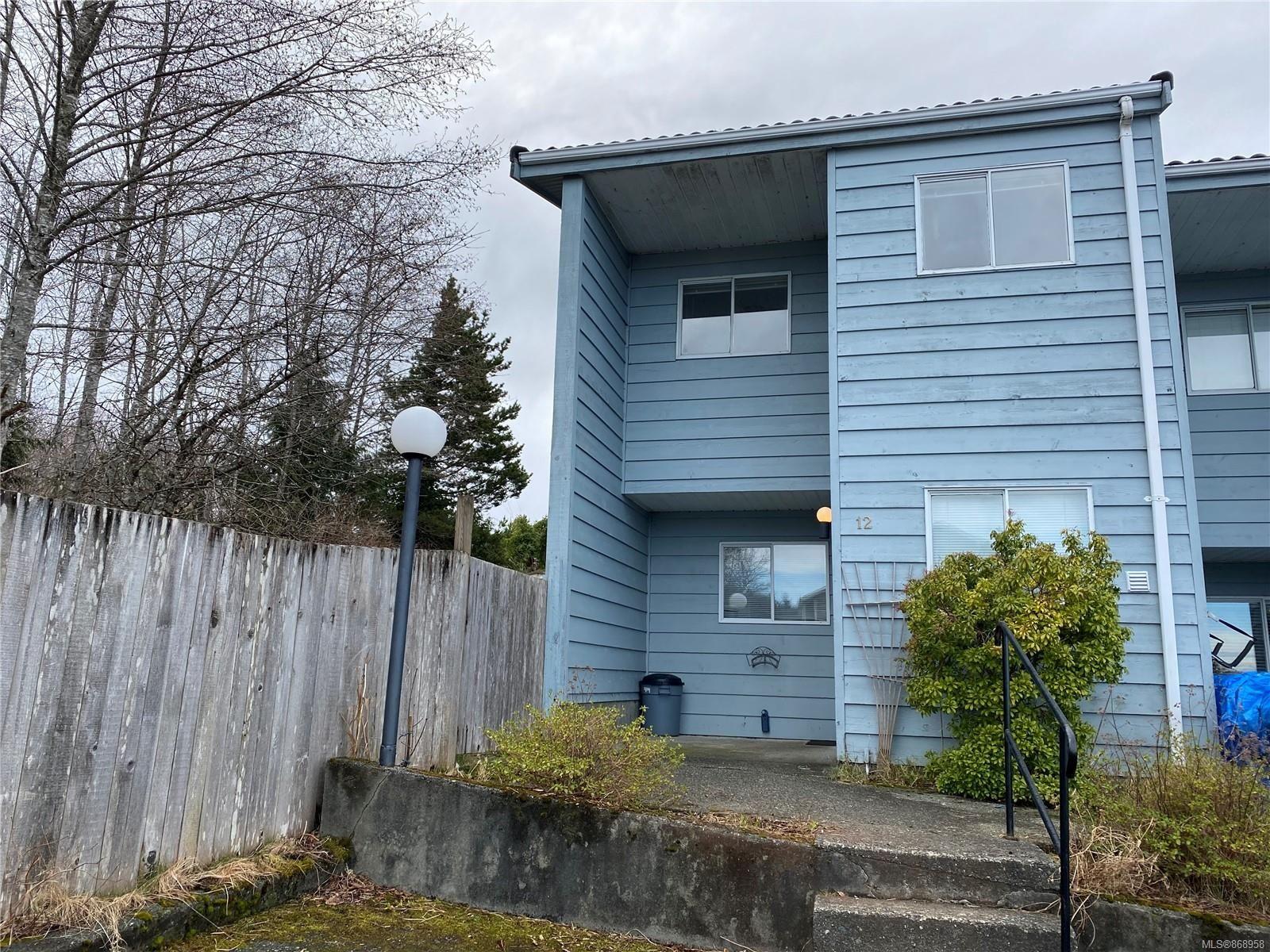 Main Photo: 12 5215 Fanshawe St in : NI Port Hardy Row/Townhouse for sale (North Island)  : MLS®# 868958