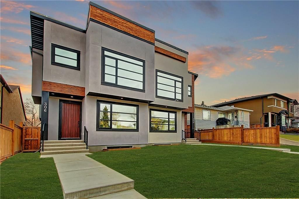 Main Photo: 306 30 Avenue NE in Calgary: Tuxedo Park Semi Detached for sale : MLS®# C4283291