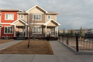 Photo 1: 27 675 ALBANY Way in Edmonton: Zone 27 Townhouse for sale : MLS®# E4237540