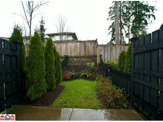 """Photo 10: 14 15192 62A Avenue in Surrey: Sullivan Station Townhouse for sale in """"ST. JAMES GATE"""" : MLS®# F1104157"""