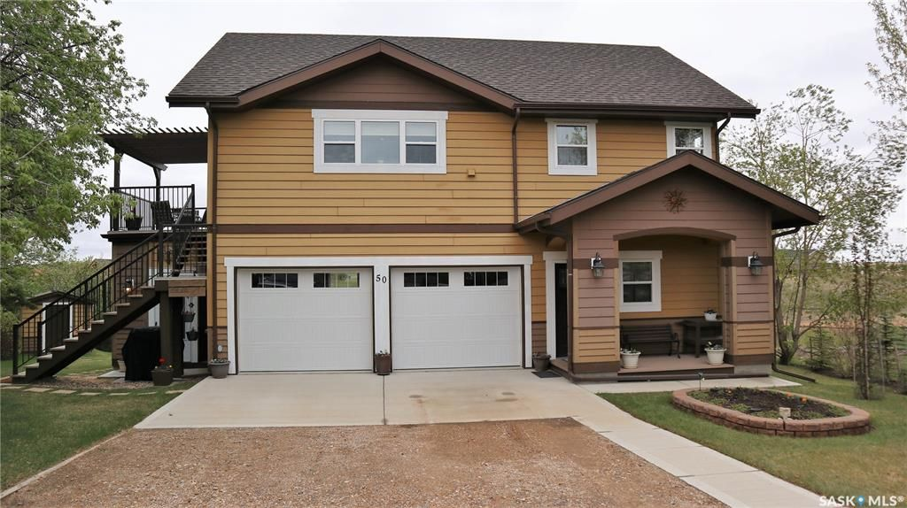 Main Photo: 50 Marina Avenue in Last Mountain Lake East Side: Residential for sale : MLS®# SK856069