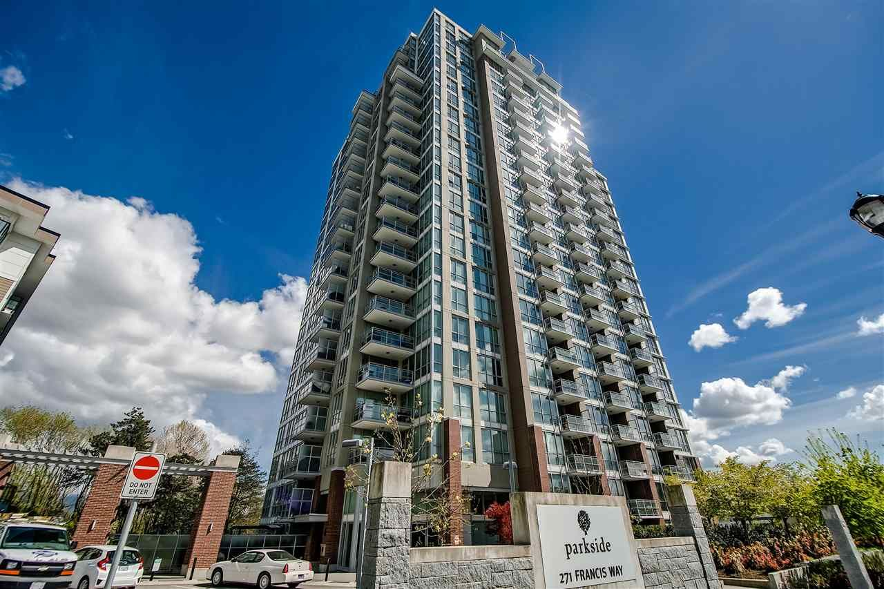 Main Photo: 1210 271 FRANCIS Way in New Westminster: Fraserview NW Condo for sale : MLS®# R2435132