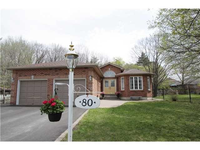 Main Photo: 80 BRENNAN AV in BARRIE: House for sale : MLS®# 1403639
