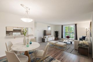 Photo 1: 204 2022 CANYON MEADOWS Drive SE in Calgary: Queensland Apartment for sale : MLS®# A1028195