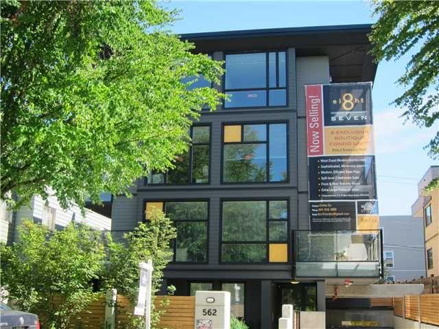 Main Photo: 568 E 7TH Avenue in Vancouver: Mount Pleasant VE Condo for sale (Vancouver East)  : MLS®# V1073210