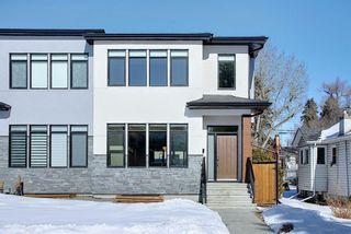 Main Photo: 826 19 Avenue NW in Calgary: Mount Pleasant Semi Detached for sale : MLS®# A1073989