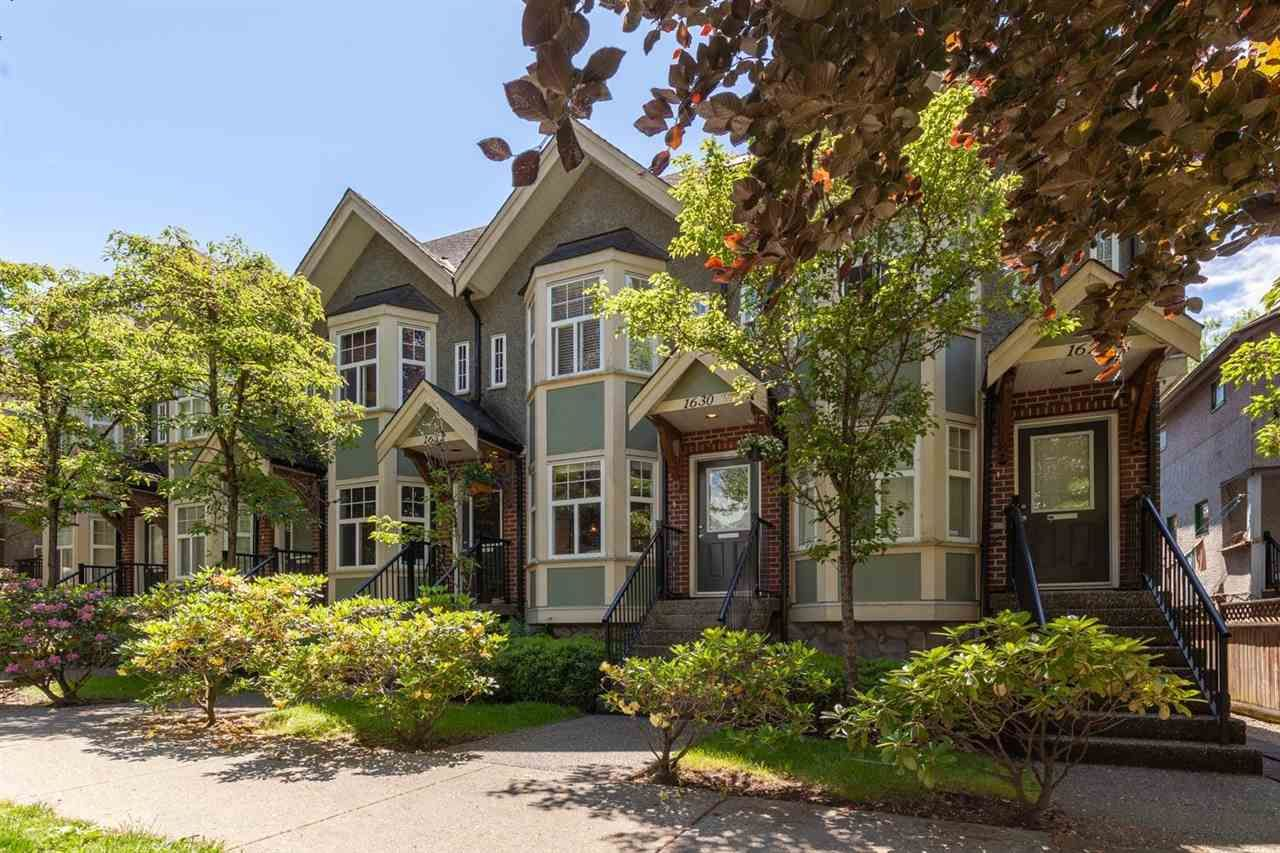 """Main Photo: 1630 E GEORGIA Street in Vancouver: Hastings Townhouse for sale in """"WOODSHIRE"""" (Vancouver East)  : MLS®# R2587031"""