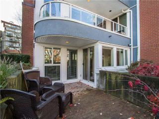 """Photo 19: 102 1502 ISLAND PARK Walk in Vancouver: False Creek Condo for sale in """"THE LAGOONS"""" (Vancouver West)  : MLS®# V1108312"""