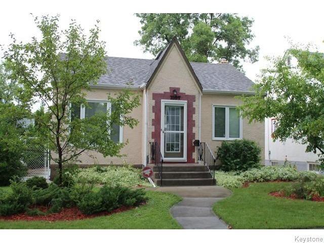 Main Photo: 1097 Jessie Avenue in Winnipeg: Residential for sale : MLS®# 1620521