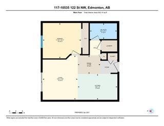 Photo 19: 117 10535 122 Street in Edmonton: Zone 07 Condo for sale : MLS®# E4234292