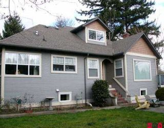 """Photo 1: 1740 EVERETT RD in Abbotsford: Abbotsford East House for sale in """"EVERETT ESTATES"""" : MLS®# F2526260"""