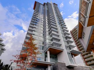 "Photo 1: 2503 520 COMO LAKE Avenue in Coquitlam: Coquitlam West Condo for sale in ""THE CROWN"" : MLS®# R2328043"