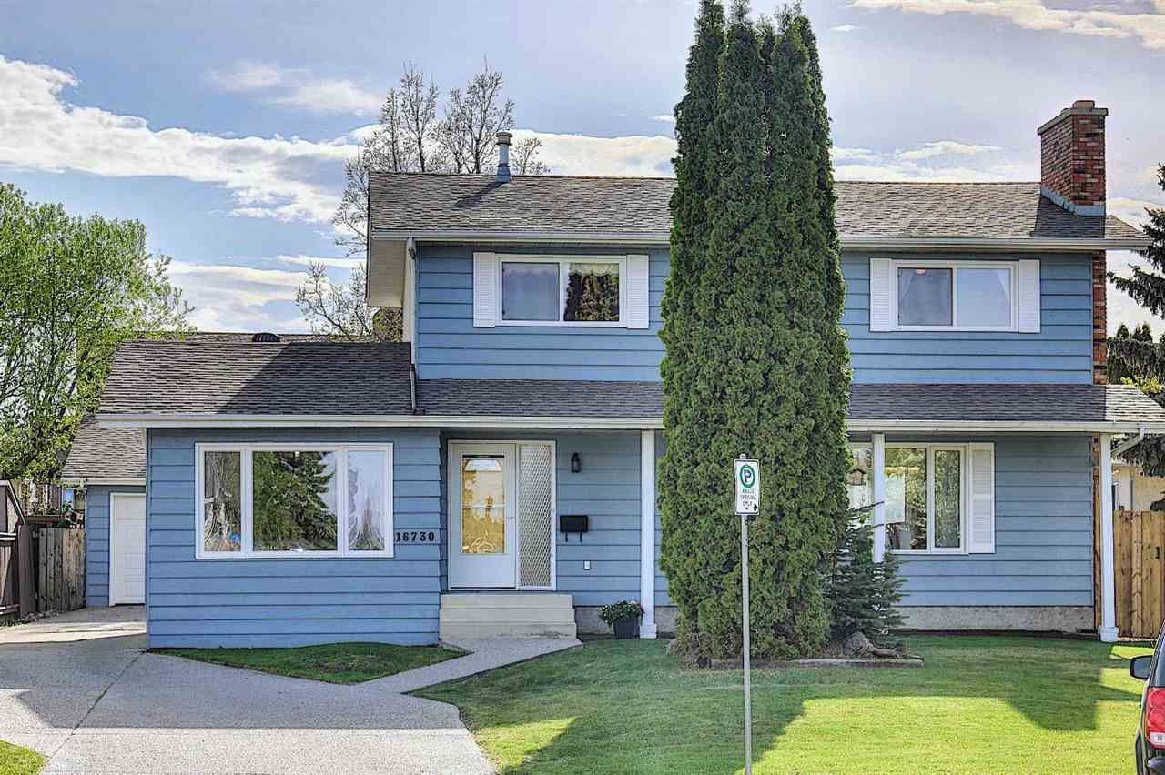 Main Photo: 16730 109A Street in Edmonton: Zone 27 House for sale : MLS®# E4244438