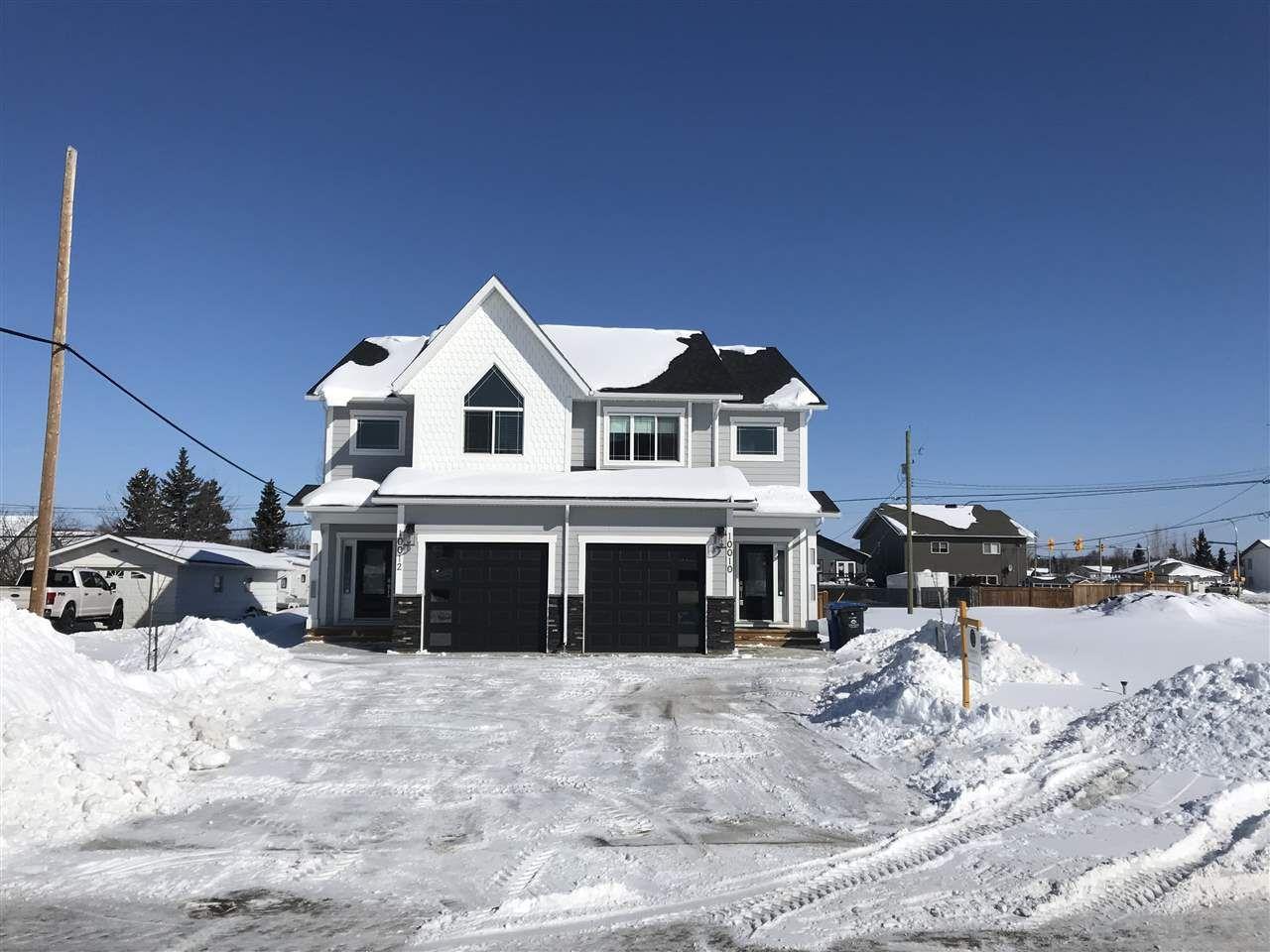 Main Photo: 10010 111 Avenue in Fort St. John: Fort St. John - City NW 1/2 Duplex for sale (Fort St. John (Zone 60))  : MLS®# R2443211