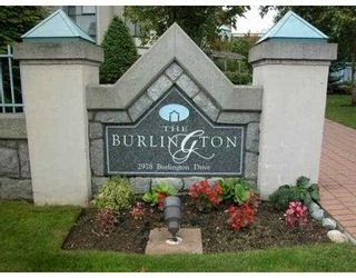 "Photo 1: 2978 BURLINGTON Drive in Coquitlam: North Coquitlam Condo for sale in ""THE BURLINGTON"" : MLS®# V627386"