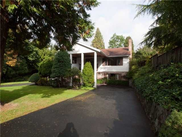 Main Photo: 1885 Fulton Ave in West Vancouver: House for sale : MLS®# v1013109