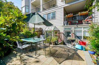 Photo 2: 103 737 HAMILTON STREET in New Westminster: Uptown NW Condo for sale : MLS®# R2403545