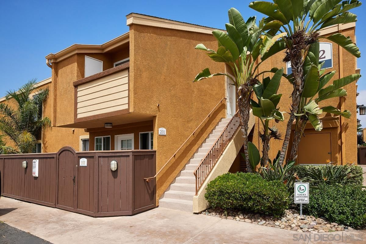 Main Photo: CLAIREMONT Condo for sale : 2 bedrooms : 5252 Balboa Arms Dr #201 in San Diego