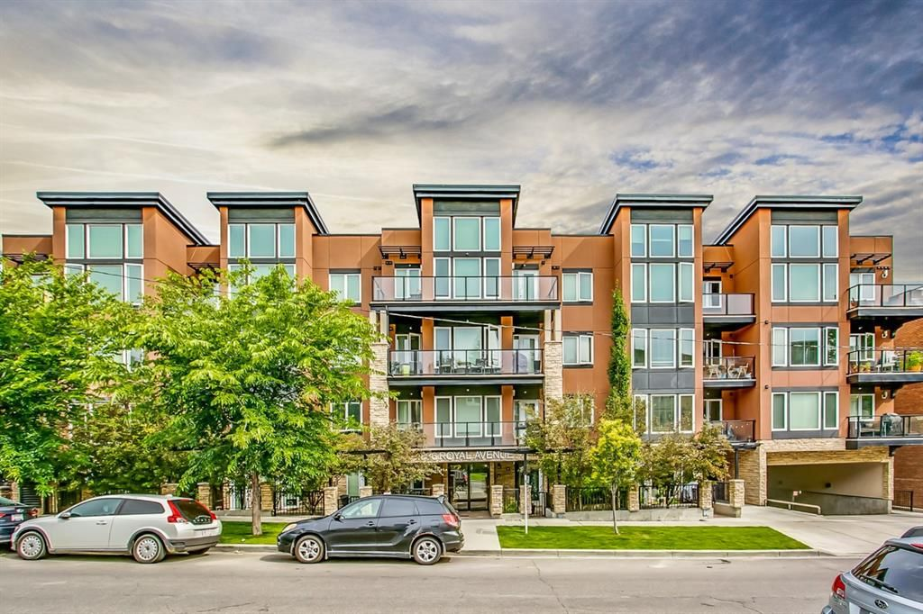 Main Photo: 306 836 Royal Avenue SW in Calgary: Lower Mount Royal Apartment for sale : MLS®# A1091198