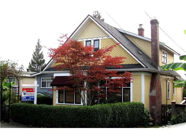 """Main Photo: 1418 7TH Avenue in New Westminster: West End NW House for sale in """"WEST END"""" : MLS®# V854555"""