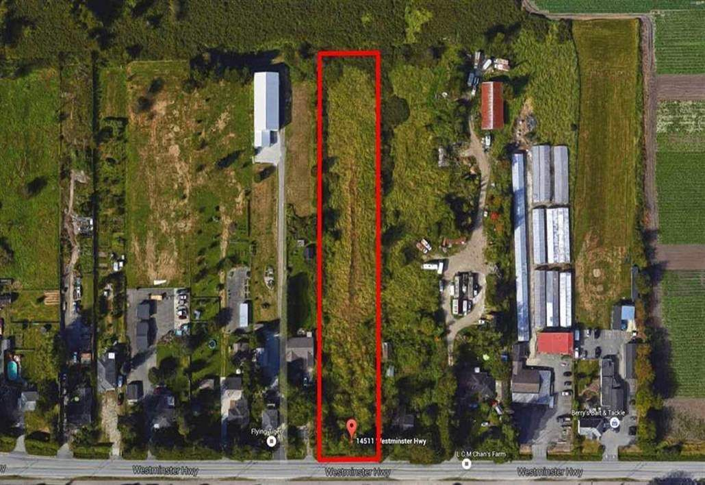Photo 1: Photos: 14511 WESTMINSTER Highway in Richmond: East Richmond Land for sale : MLS®# R2212041