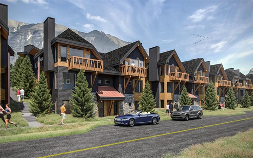 Main Photo: 102A 1200 Three Sisters Parkway: Canmore Row/Townhouse for sale : MLS®# A1043208