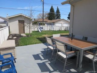 Photo 18: 423 Armstrong Avenue in Winnipeg: Margaret Park Residential for sale (4D)  : MLS®# 1711127