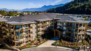 "Photo 1: 208 45746 KEITH WILSON Road in Chilliwack: Sardis East Vedder Rd Condo for sale in ""Englewood Courtyard Platinum 2"" (Sardis)  : MLS®# R2542236"